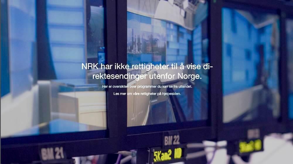 NRK har ikke rettigheter til å vise direktesendinger utenfor Norge. Med noen enkle grep kan du likevel se disse programmene.