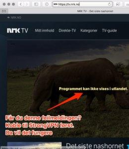 NRK og TV2 i USA