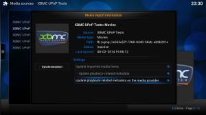 UPnP er innebygget i Kodi slik at du kan sette opp en Kodi server og mange Kodi klienter omkring i huset.