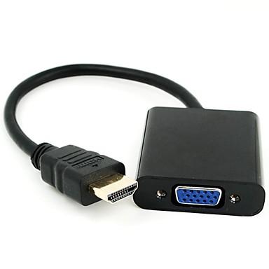 PC til TV med HDMI adapter slik at du kan bruke en gammel PC til å se på TV i utlandet